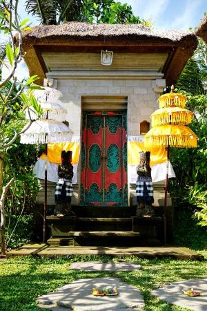 Villa 1 entrance gate