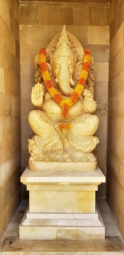 Ganesha statue at main entrance