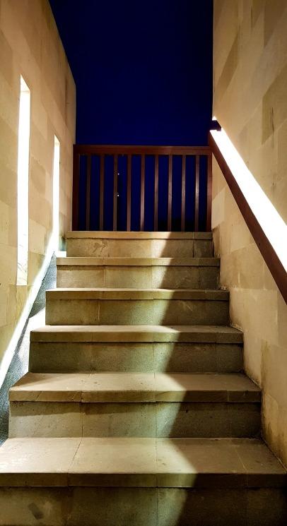 Stair to villas