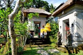 Gate to villas