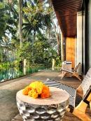 Villa 1 pool terrace